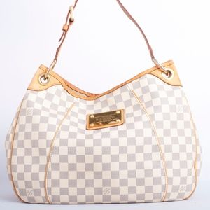 Louis Vuitton Galleria PM Damier Azur Hobo Bag